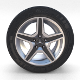 Mercedes G Class Wheel - 3DOcean Item for Sale