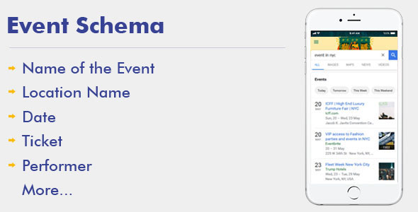 Event Schema For WordPress - CodeCanyon Item for Sale