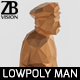 Lowpoly Man 004 - 3DOcean Item for Sale
