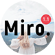 Miro - A Clean WordPress Blog & Shop Theme