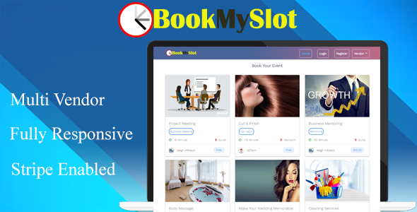 BookMySlot - Multi Vendor Appointment Booking PHP Software - CodeCanyon Item for Sale
