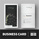 Minimalist Business Card Vol. 06 - GraphicRiver Item for Sale