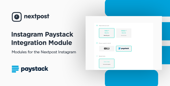 Paystack- Module - Instagram Auto Post & Scheduler - Nextpost Instagram - CodeCanyon Item for Sale