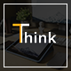 Think - Creative Google Slides Template - GraphicRiver Item for Sale