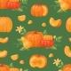 Pumpkin Vegetable Vector Organic Healthy Autumn
