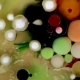 Abstract Background. Acrylic Colorful Bubbles Mixing in Oil - VideoHive Item for Sale