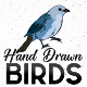 Hand Drawn Animated Birds - VideoHive Item for Sale