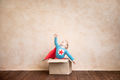 Superhero kid playing at home - PhotoDune Item for Sale
