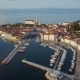 Aerial View of Piran, Slovenia - VideoHive Item for Sale