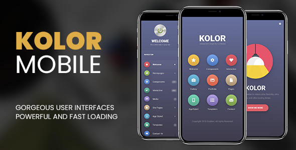 Kolor | PhoneGap & Cordova Mobile App            Nulled