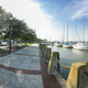 360 degree panorama of waterfront in Beaufort, South Carolina. - PhotoDune Item for Sale