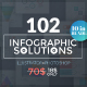 102 Infographic Solutions (10 in 1 Bundle) - GraphicRiver Item for Sale