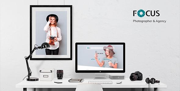 Focus — Photographer portfolio Responsive Joomla Template - Photography Creative