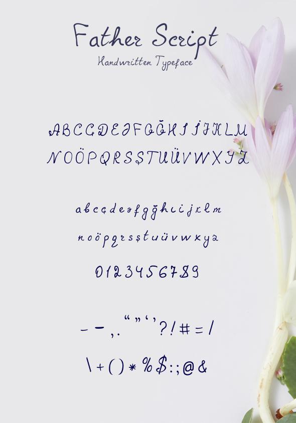 Father Script - Script Fonts