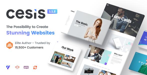 Image of Cesis | Responsive Multi-Purpose WordPress Theme