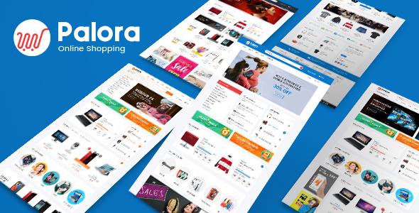 Image of Palora – Electronics eCommerce Bootstrap4 Template