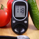 Vegetables, glucometer for checking sugar level and stethoscope - PhotoDune Item for Sale