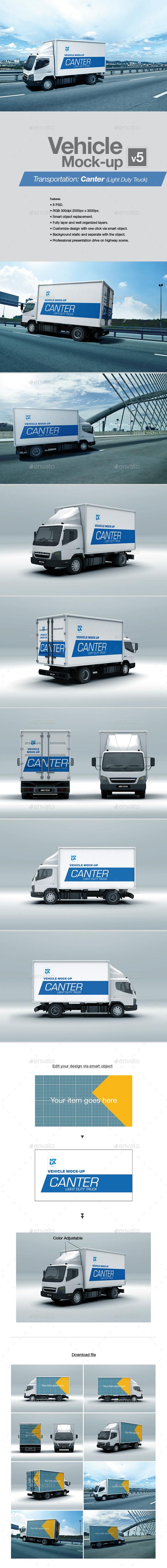 Vehicle Mock-up v5 - Vehicle Wraps Print