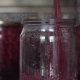 Raspberry Jam Is Poured Into Glass Jar for Preservation and Covered with Metal Lid - VideoHive Item for Sale