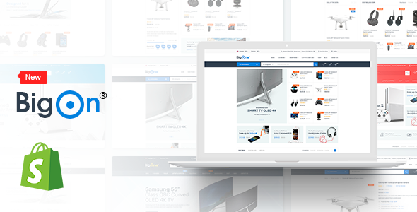 Image of BigOn - Responsive Ecommerce Shopify Theme