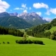 Beautiful Landscape in the Alps - VideoHive Item for Sale