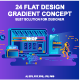 Set of Flat Design Concepts