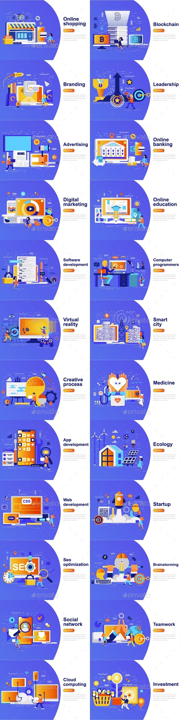 Landing Page Template - Concepts Business