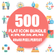 Set of Flat Business Icons - GraphicRiver Item for Sale