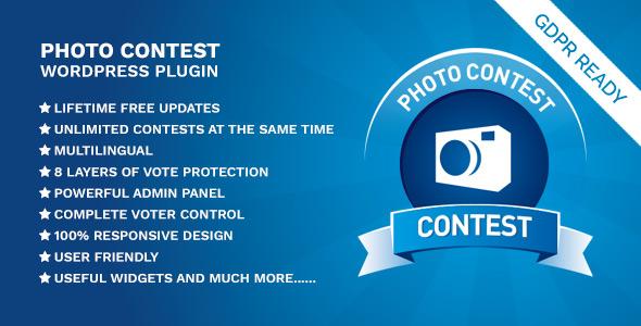 Photo Contest WordPress Plugin - CodeCanyon Item for Sale