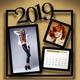 Customizable Calendar 2019 Photo Frame V05 - GraphicRiver Item for Sale