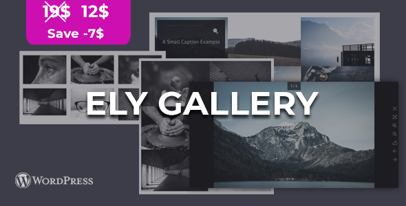 Ely - Wordpress Gallery Plugin - CodeCanyon Item for Sale