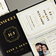 Art Deco Passport Wedding Invitation - GraphicRiver Item for Sale