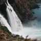 A Footage of the Waterfall and Blue Sea - VideoHive Item for Sale