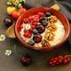 Oat Porridge with Berries - PhotoDune Item for Sale