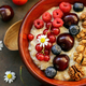 Oat Porridge with Berries - PhotoDune Item for Sale