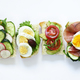 Sandwiches with Different Fillings - PhotoDune Item for Sale