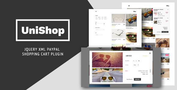 UniShop - jQuery XML PayPal Shopping Cart Plugin            Nulled