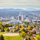 Aerial view of the Salt Lake City downtown in autumn. - PhotoDune Item for Sale