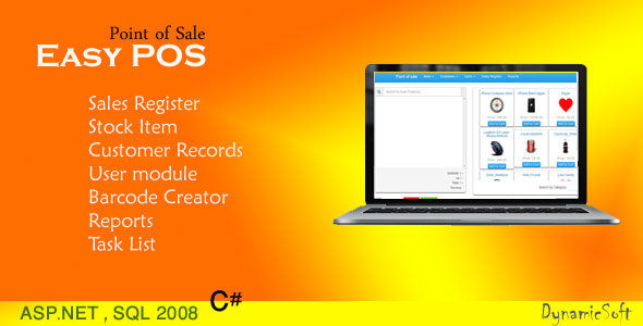 Easy POS - Point of Sale - CodeCanyon Item for Sale