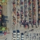 Aerial View of the Commercial Port of Valencia. Container Terminal and Ship During Loading - VideoHive Item for Sale