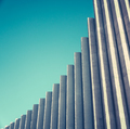 Abstract White Concrete Architecture - PhotoDune Item for Sale