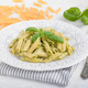 Penne Rigate With Basil Pesto - PhotoDune Item for Sale