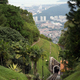 Railway tram track on the Penang hill, Malaysia. - PhotoDune Item for Sale