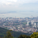 Panoramic view of Penang town from top of Penang hill - PhotoDune Item for Sale