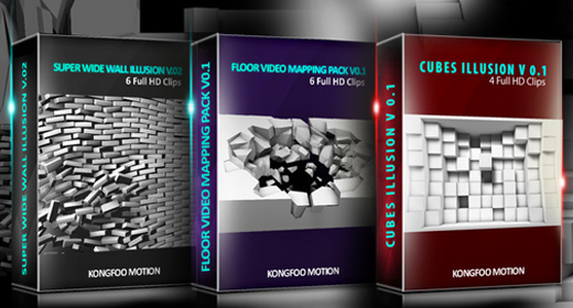 Video Mapping Collection Packs