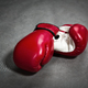 Red boxing gloves, closeup, nobody - PhotoDune Item for Sale