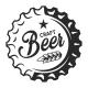 Vintage Craft Beer Emblem
