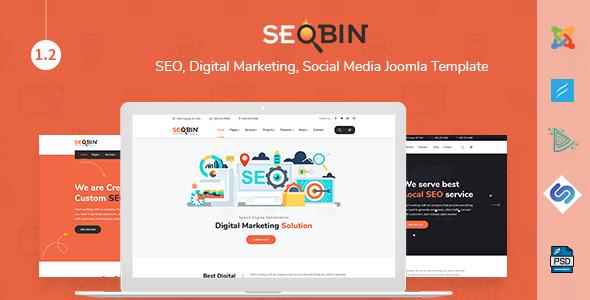 Image of SeoBin | SEO, Digital Marketing, Business Joomla Template
