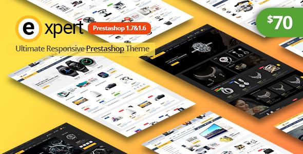 Expert Responsive Prestashop 1.7&1.6 Theme - PrestaShop eCommerce