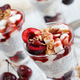 Cherry and yogurt chia pudding parfait - PhotoDune Item for Sale